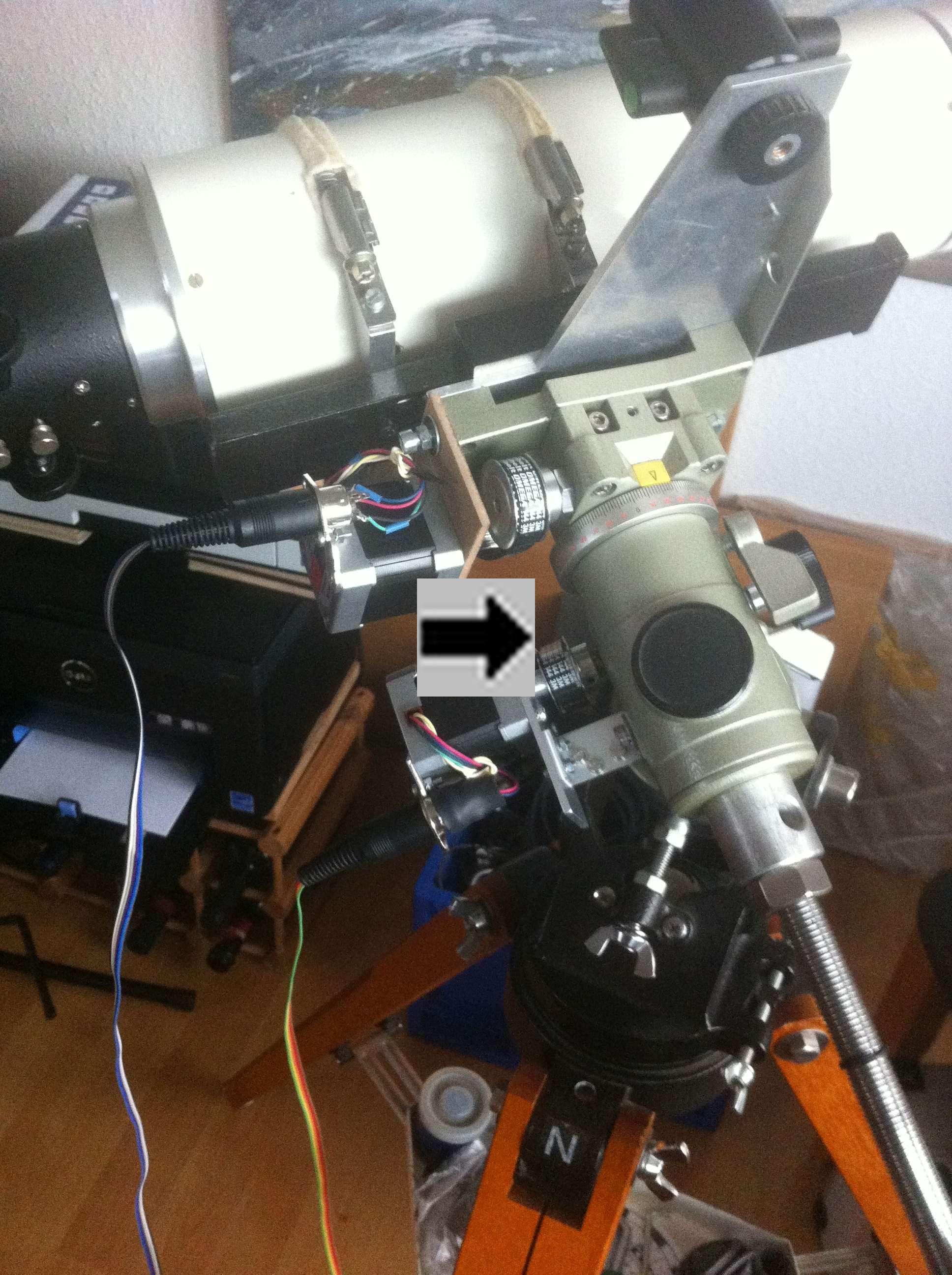 software entwicklung teleskop j rgen goldan. Black Bedroom Furniture Sets. Home Design Ideas